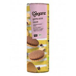biscuits fourrés tout chocolat Veganz