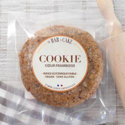 cookie framboise vegan Le Bar à Cake