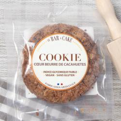 cookie cacahuète vegan Le Bar à Cake