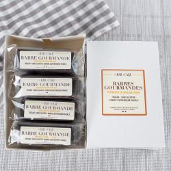 barres gourmandes chocolat pistaches Le Bar à Cake