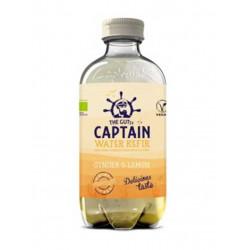 The gutsy Captain water kefir gingembre citron