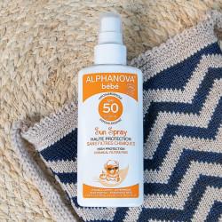 Alphanova Bébé sun spray spf 50 - 125g