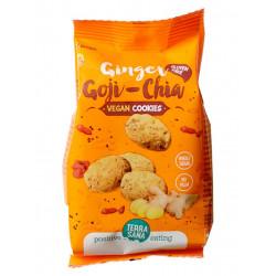 vegan cookies gingembre