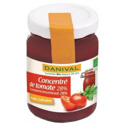 Concentré Tomates Bio Danival - 100g