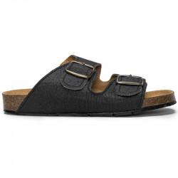 sandales darco pinatex noir Nae Vegan Shoes