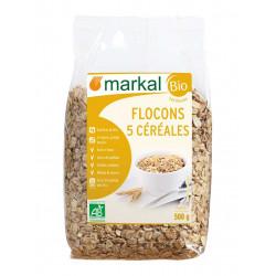Flocons 5 céréales bio Markal