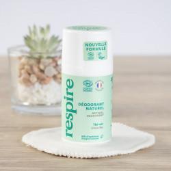 déodorant Respire naturel au thé vert