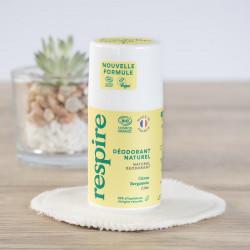 déodorant naturel citron bergamote Respire