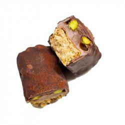 barre gourmande chocolat pistache Le Bar A Cake