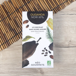 chocolat noir Ouganda Neogourmets