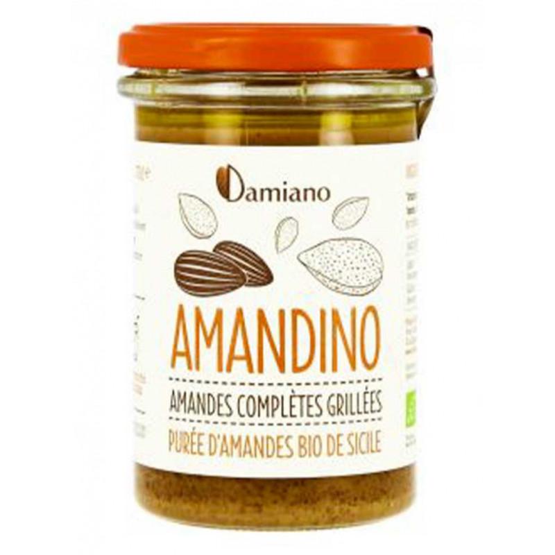 purée d amande grillee Damiano - Amandino