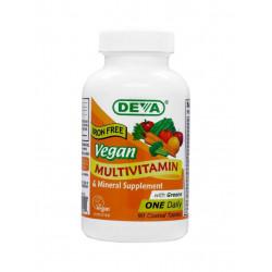 Vegan multivitamine sans fer Deva