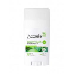Acorelle déodorant baume - Citron Mandarine Verte