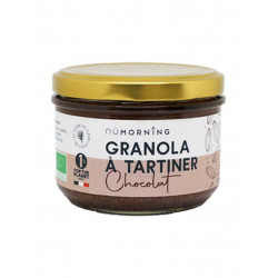 Granola à tartiner chocolat NuMorning