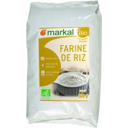 Farine de Riz Bio Markal - Sans Gluten- 500g