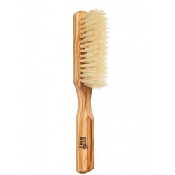 Kostkamm brosse à cheveux vegan - sisal et olivier - 5 rangées