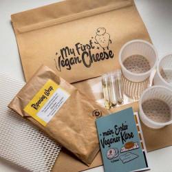 my first vegan cheese kit Cashewbert