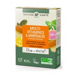 Multivitamines et minéraux - Nature et Santé