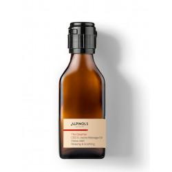 huile de massage CBD Alpinols