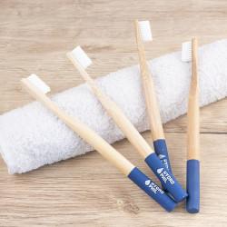 lot 4 brosses à dent souples Hydrophil - bleu foncé