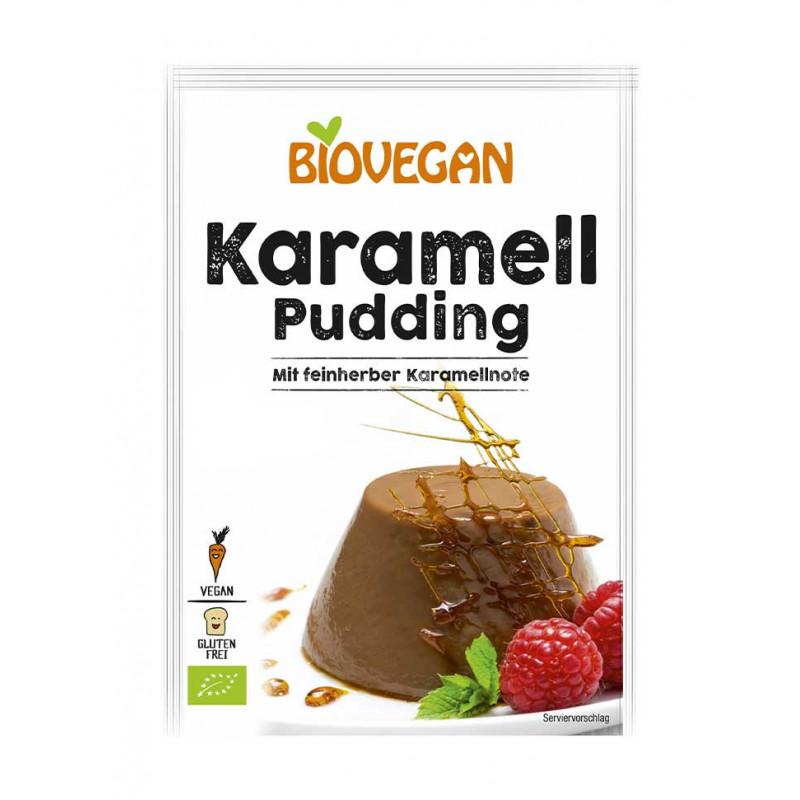 pudding caramel Biovegan