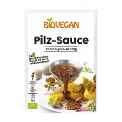 sauce champignon Biovegan