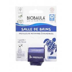 pastilles nettoyage salle de bains Biobaula