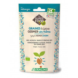 Mix graines à germer Bio - Alfa radis fenouil