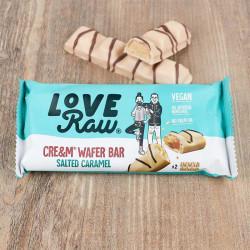 cream wafer caramel salé LoveRaw