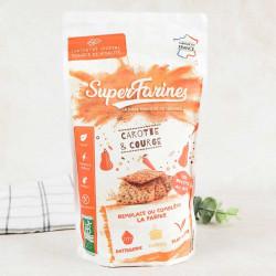 super farine Greendoz carotte courge