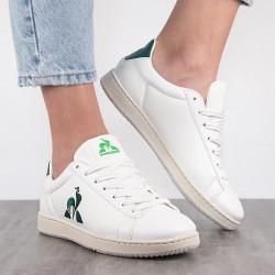 basket Le Coq Sportif Gaia - White botanical green 1