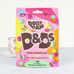dark chocolate drops Doisy and Dam