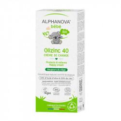 crème de change olizinc 40 Alphanova Bébé