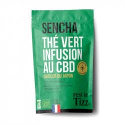 infusion sencha CBD Rest in Tizz