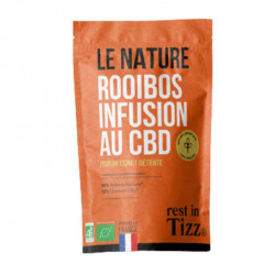 infusion rooibos CBD Rest in Tizz