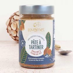 pate à tartiner Louarnes praliné et sel