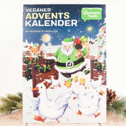 calendrier schakalode blanc Vantastic Foods