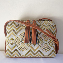 melville jacquard ocre camille