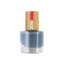 Zao Makeup - Vernis à ongles bleu gris