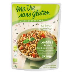 Céréales cuisinées Lentilles Soja Riz et Sarrasin - Ma Vie Sans Gluten