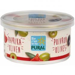Pural - Pâté végétal poivron olives