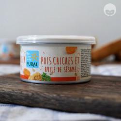 PURAL pâté vegan - pois chiche huile de sésame
