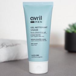gel nettoyant visage homme avril cosmetiques