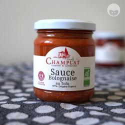 Champlat - sauce bolognaise au tofu